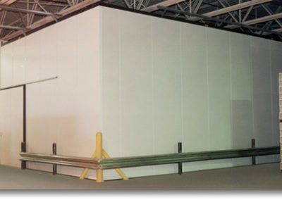 Cold Room Using EPS Panels and Sliding Door
