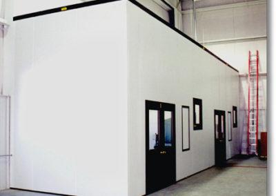 Negative Pressure, Process Isolation Room