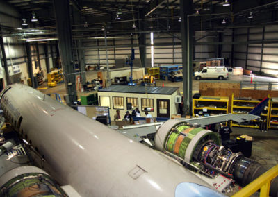 Aviation Hangar Inventory Control Rooms