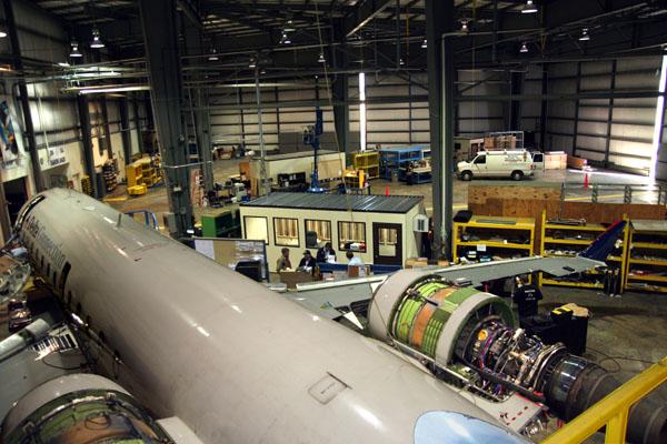 Aviation Hangar Inventory Control Rooms