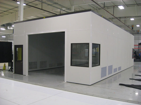 Fabrication Room with Custom Ventilation Grilles