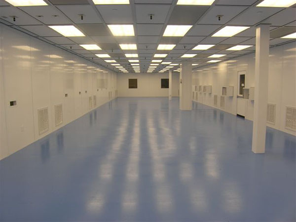 Interior of Modular Cleanroom