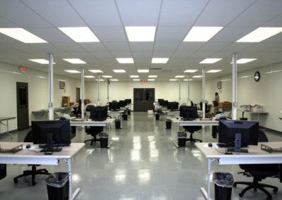 Interior of Classroom