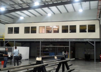 Mezzanine Offices above Production Floor