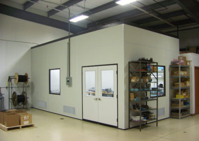 Once-Thru Modular Cleanroom