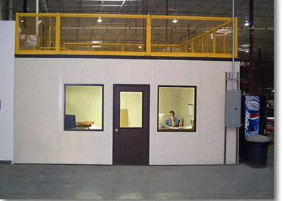 Office with Roof Designed for 100 pounds/sq. ft. Storage