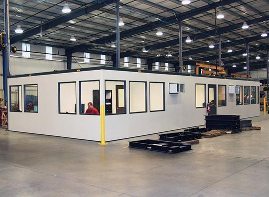Modular Offices Pre-engineered for Your Facility