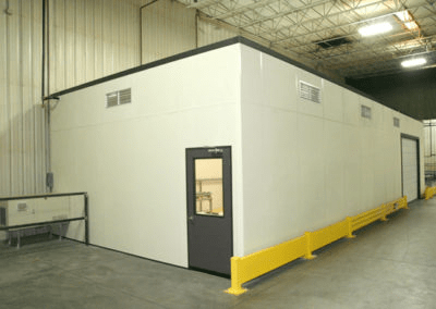 Grinding Dust Isolation Room