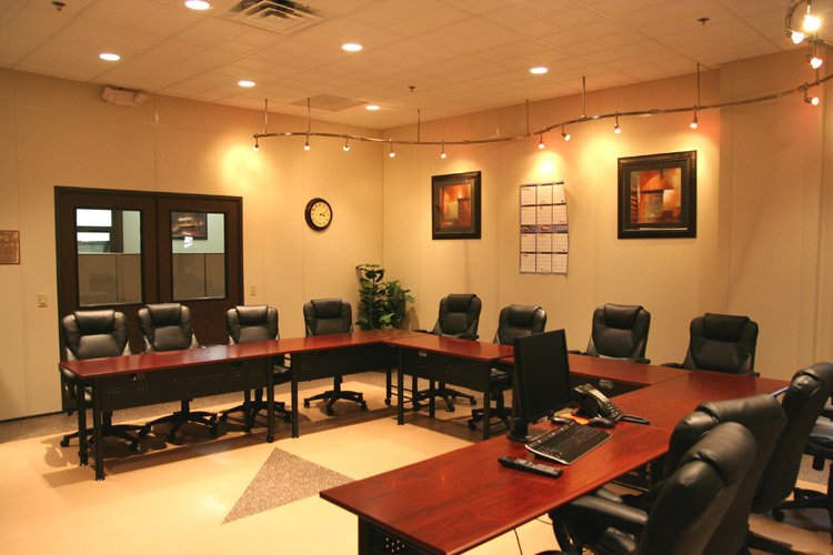 Interior View of Modular Conference Room