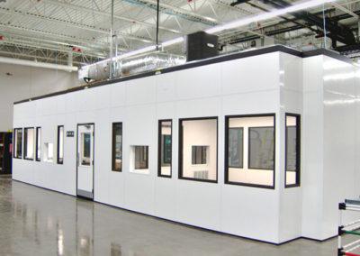 Temperature Controlled Modular Cleanroom
