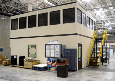 Two Story Warehouse Offices