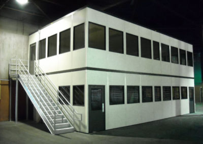 Two Story Offices Over Break Room