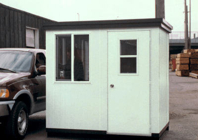 Guard Building with Sliding Windows and Screens