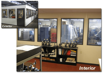 Interior and Exterior View of Gauge Room