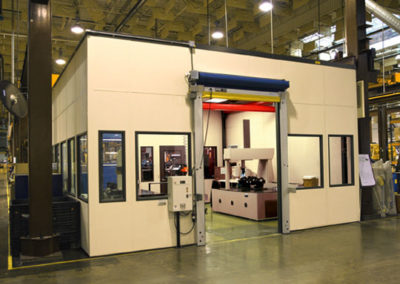 CMM Room with High Speed Roll-Up Doors