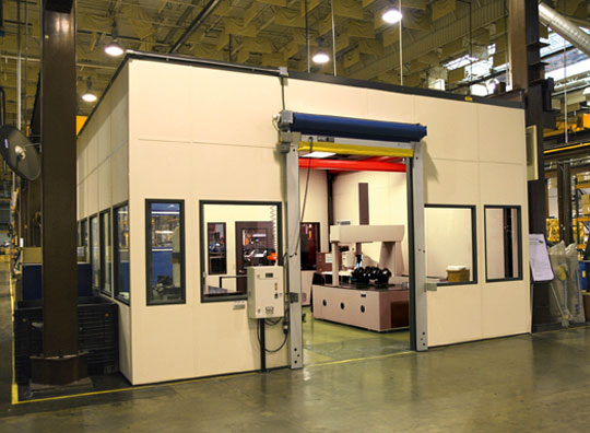 A-WALL Metrology and CMM Rooms