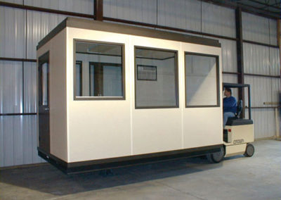 Forkliftable Office with Sliding Reception Window