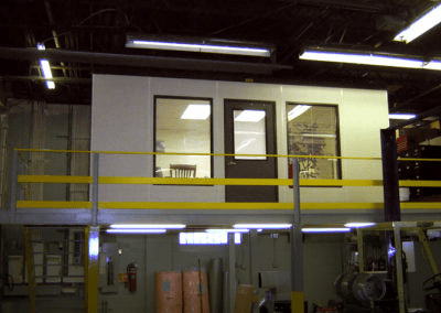 Managers Office on Mezzanine