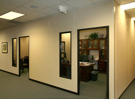 Attrayant Modular Office Walls Create Executive Offices